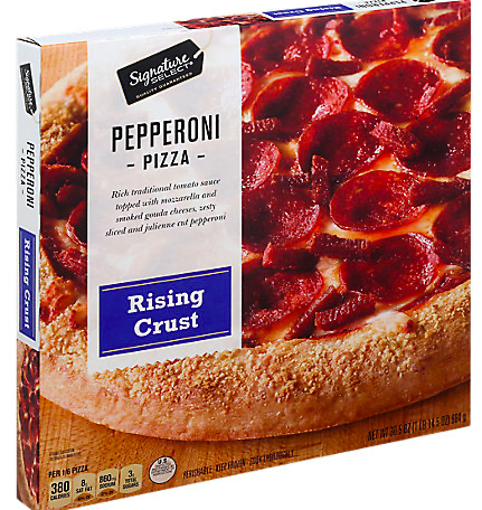 Picture of Signature SELECT Pizza Rising Crust Pepperoni Frozen