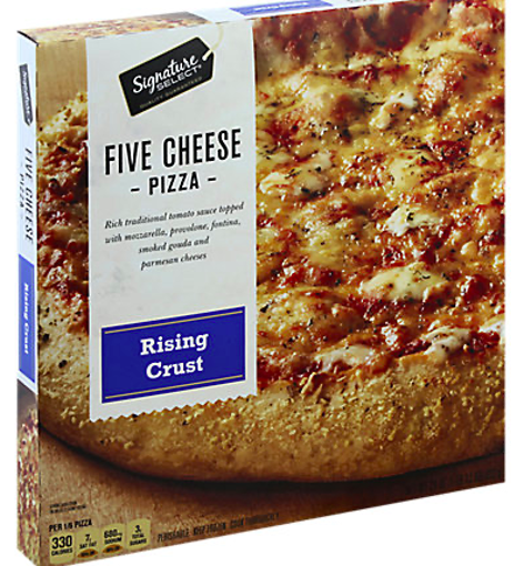 Picture of Signature SELECT Pizza Rising Crust Five Cheese Frozen