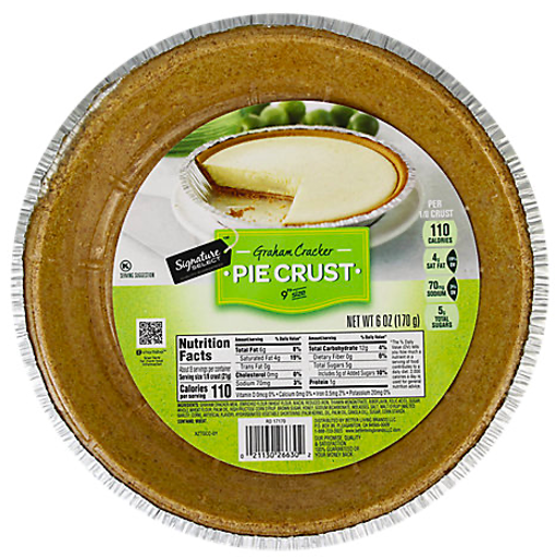Picture of Signature SELECT Pie Crust Graham Cracker 9 Inch Size
