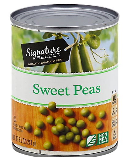 Picture of Signature SELECT Peas Sweet