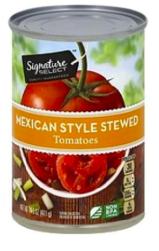 Picture of Signature SELECT Tomatoes Stewed Mexican Style