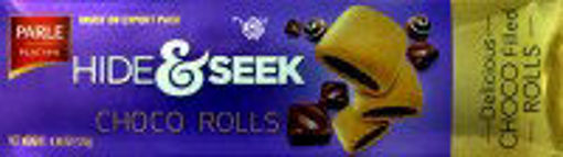 Picture of Parle Hide & Seek 125g Chocolate Chip Rolls