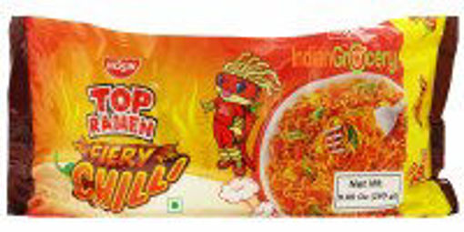 Picture of Top Ramen Fiery Chilli 4pack Noodles