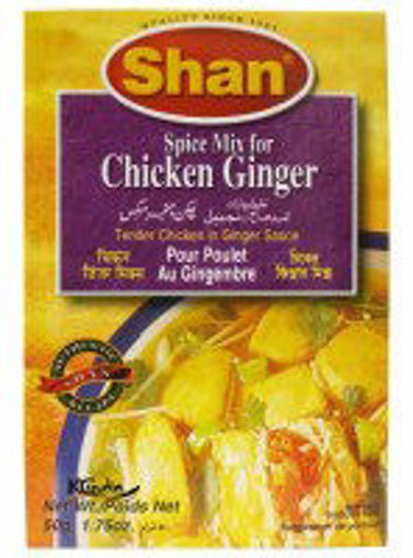 Picture of Shan Ginger Chicken Masala 50g