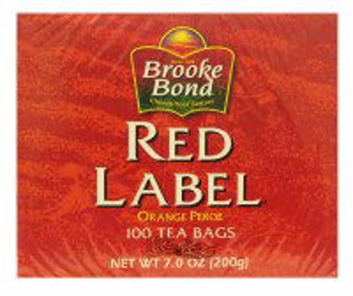Picture of Brook Bond Red Label 100 Tea Bags
