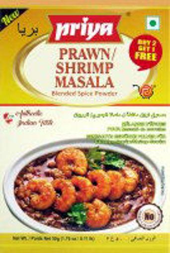 Picture of Priya Prawn/shrimp Masala 50g
