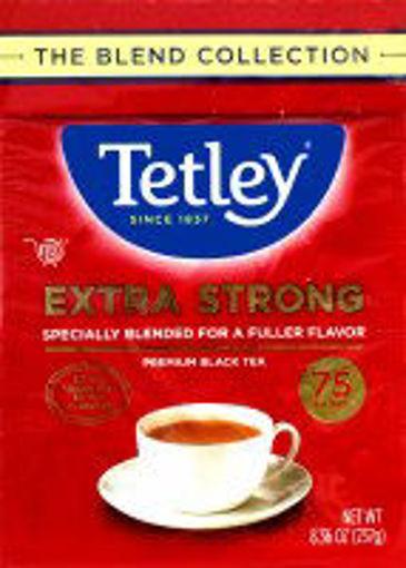 Picture of Tetley Extra Strong Tea Bag 75 Black Tea