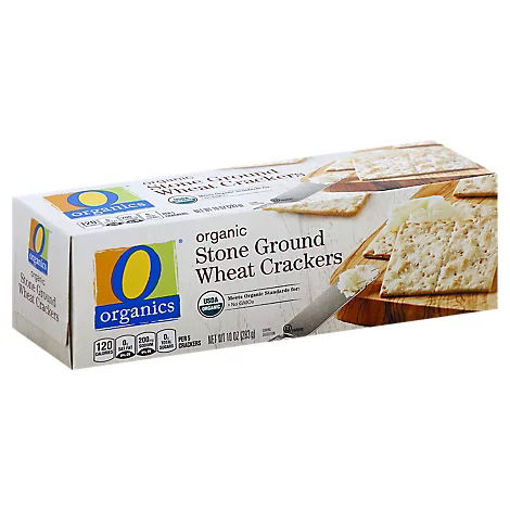 Picture of Crackers Organic Stone Ground Wheat - 10 Oz