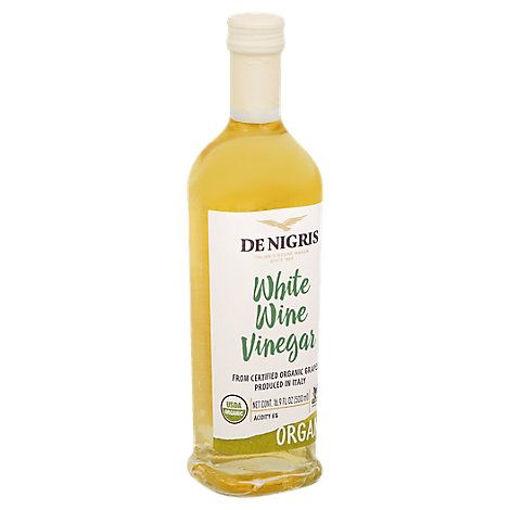 Picture of De Nigris Vinegar Organic White Wine - 16.9 Fl. Oz.