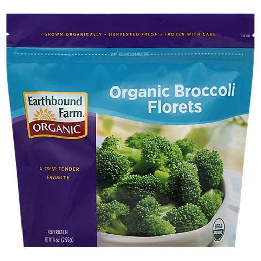 Picture of Earthbound Farm Organic Broccoli Florets - 9 Oz