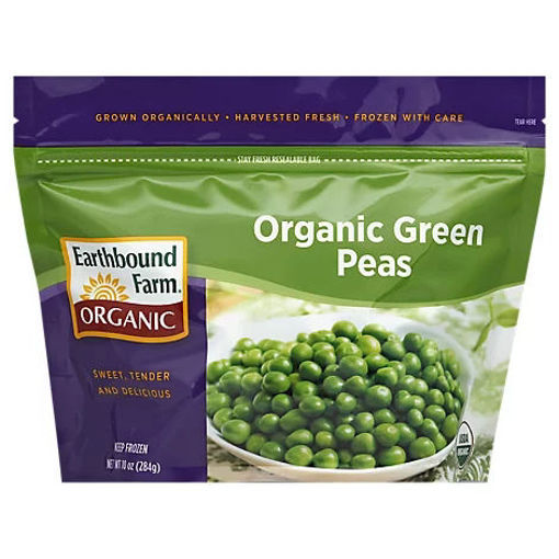 Picture of Earthbound Farm Organic Peas Green - 10 Oz