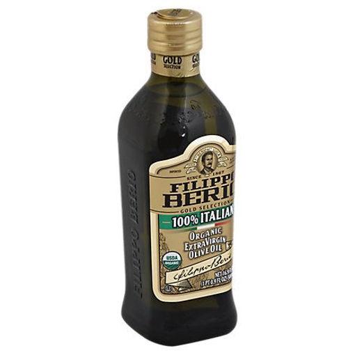 Picture of Filippo Berio Organic Olive Oil Extra Virgin 100% Italian - 16.9 Fl. Oz.