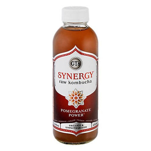 Picture of Gts Synergy Pomegranate Power Organic - 16 FZ