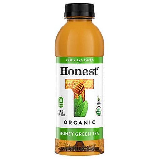 Picture of Honest Organic Tea Green Iced Gluten Free Honey - 16.9 Fl. Oz.