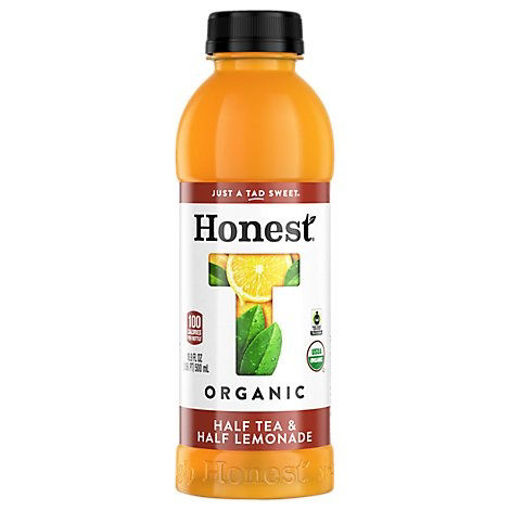 Picture of Honest Organic Tea Iced Half Tea & Half Lemonade Gluten Free - 16.9 Fl. Oz.