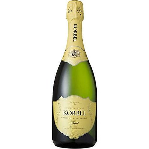 Picture of Korbel Champagne California Organic Brut 24 Proof - 750 Ml