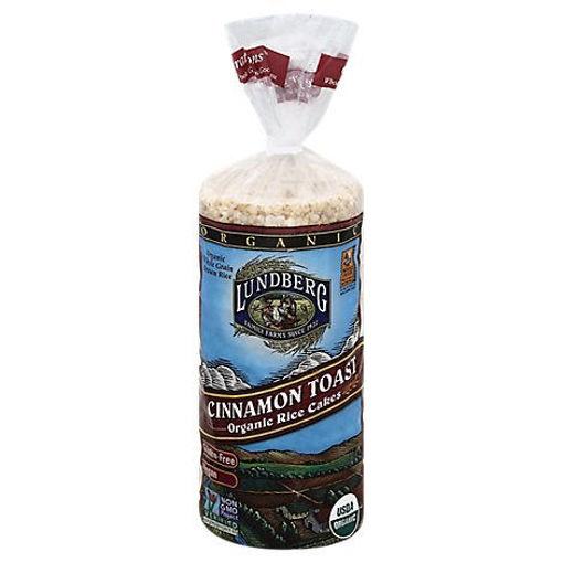 Picture of Lundberg Cakes Rice Organic Cinnamon Toast - 9.5 Oz