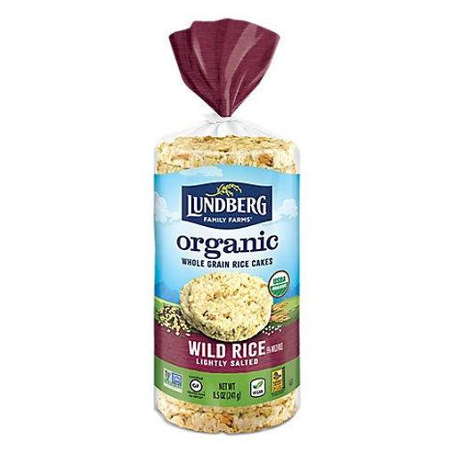 Picture of Lundberg Rice Cakes Organic Wild Rice - 8.5 Oz