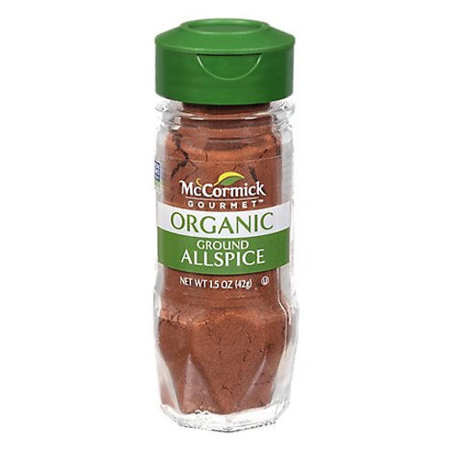 Picture of McCormick Gourmet Organic All Spice Ground - 1.5 Oz