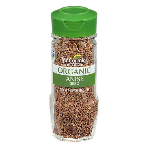 Picture of McCormick Gourmet Organic Anise Seed - 1.37 Oz