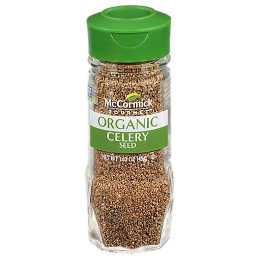 Picture of McCormick Gourmet Organic Celery Seed - 1.62 Oz