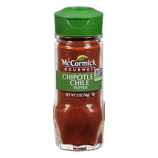 Picture of McCormick Gourmet Organic Chile Pepper Chipotle - 2 Oz