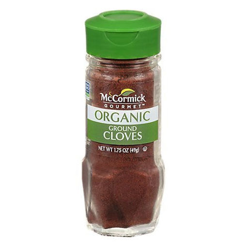 Picture of McCormick Gourmet Organic Cloves Ground - 1.75 Oz