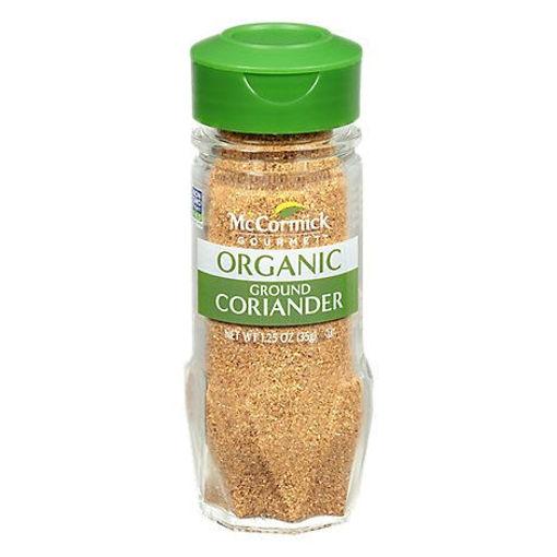 Picture of McCormick Gourmet Organic Coriander Ground - 1.25 Oz
