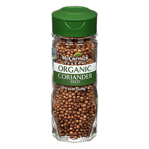 Picture of McCormick Gourmet Organic Coriander Seed - 0.87 Oz