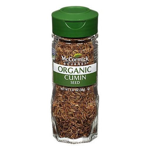 Picture of McCormick Gourmet Organic Cumin Seed - 1.37 Oz