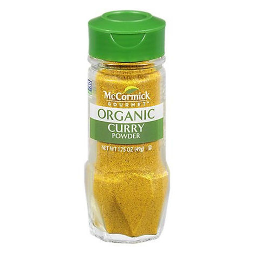 Picture of McCormick Gourmet Organic Curry Powder - 1.75 Oz