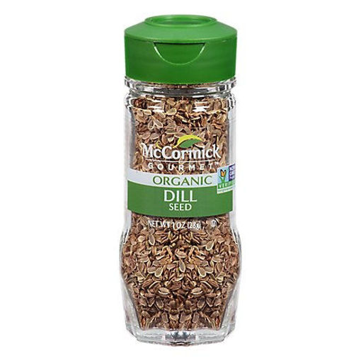 Picture of McCormick Gourmet Organic Dill Seed - 1 Oz