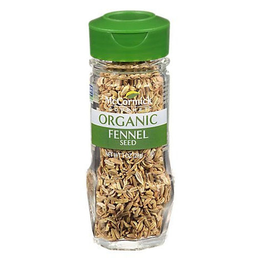 Picture of McCormick Gourmet Organic Fennel Seed - 1 Oz