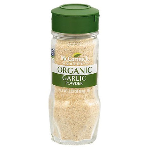 Picture of McCormick Gourmet Organic Garlic Powder - 2.25 Oz