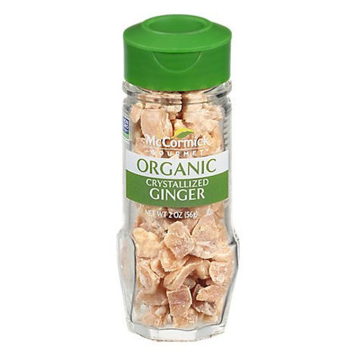 Picture of McCormick Gourmet Organic Ginger Crystallized - 2 Oz