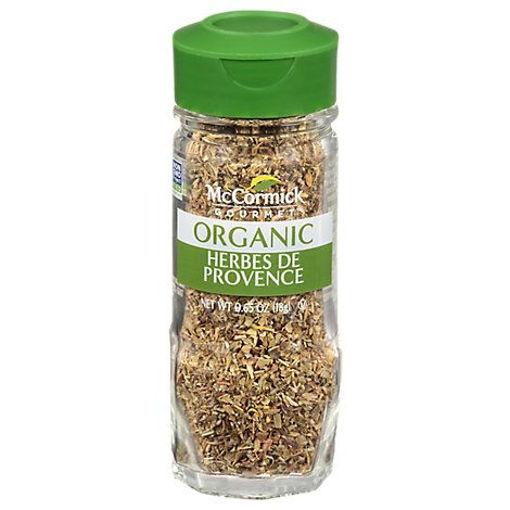 Picture of McCormick Gourmet Organic Herbes De Provence - 0.65 Oz