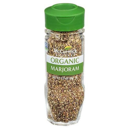 Picture of McCormick Gourmet Organic Marjoram Leaves - 0.37 Oz