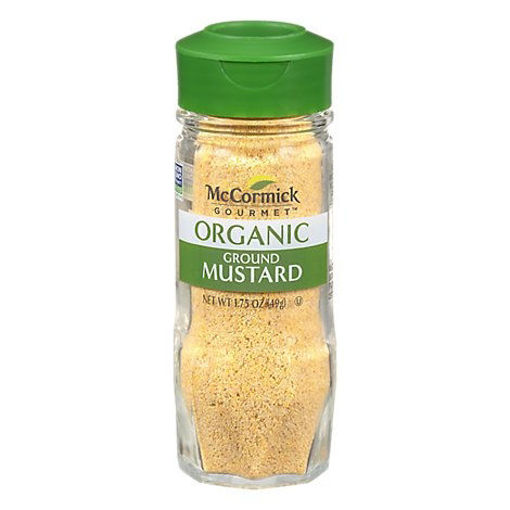 Picture of McCormick Gourmet Organic Mustard Ground - 1.75  Oz