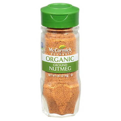 Picture of McCormick Gourmet Organic Nutmeg Ground - 1.81 Oz