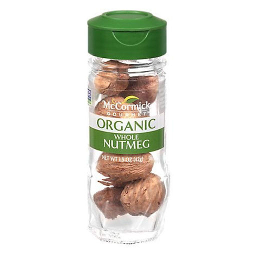 Picture of McCormick Gourmet Organic Nutmeg Whole - 1.5 Oz
