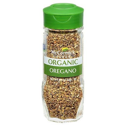 Picture of McCormick Gourmet Organic Oregano Leaves - 0.5 Oz