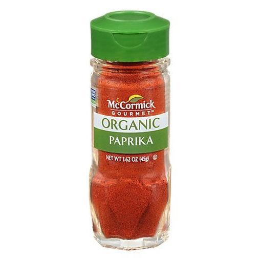 Picture of McCormick Gourmet Organic Paprika - 1.62 Oz