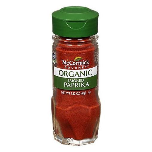 Picture of McCormick Gourmet Organic Paprika Smoked - 1.62 Oz