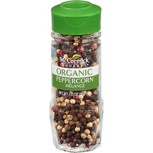 Picture of McCormick Gourmet Organic Peppercorn Melange - 1.25 Oz
