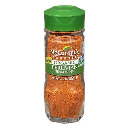 Picture of McCormick Gourmet Organic Peruvian - 2.37 Oz