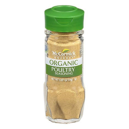 Picture of McCormick Gourmet Organic Poultry Seasoning - 0.87 Oz
