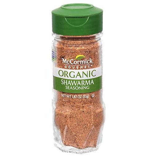 Picture of McCormick Gourmet Organic Seasoning Shawarma - 1.87 Oz