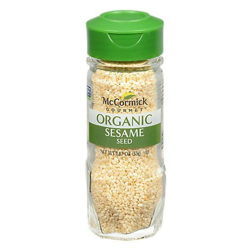 Picture of McCormick Gourmet Organic Sesame Seed - 1.87 Oz