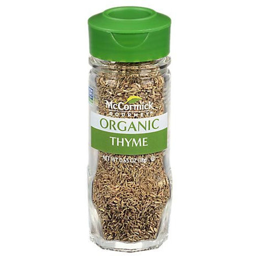 Picture of McCormick Gourmet Organic Thyme Leaves - 0.65 Oz