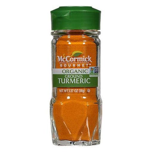Picture of McCormick Gourmet Organic Turmeric Ground - 1.37 Oz